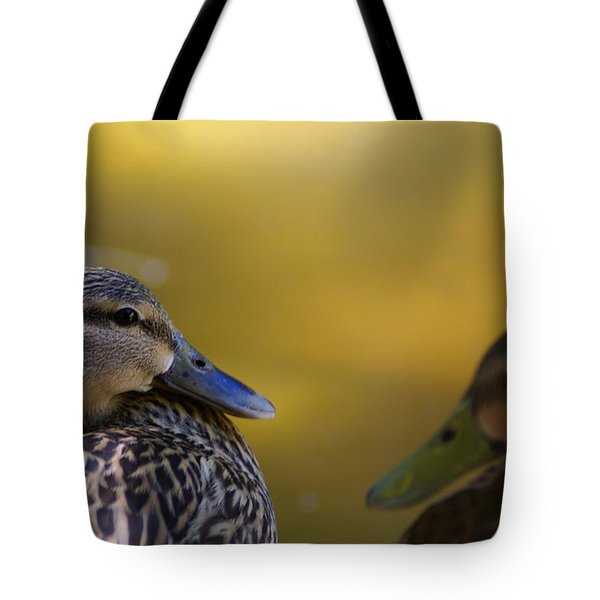 Lovey Duck Tote Bag