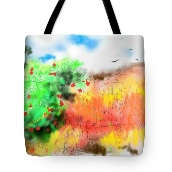 lovin Idaho autumn Tote Bag