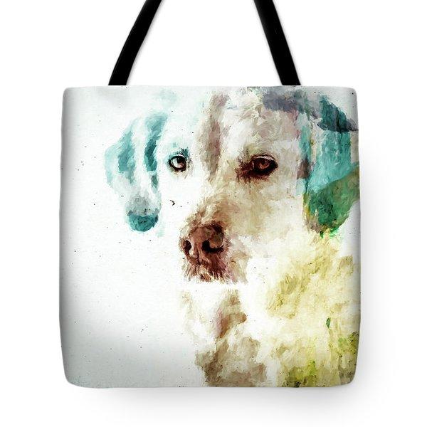 Loving Dog Tote Bag