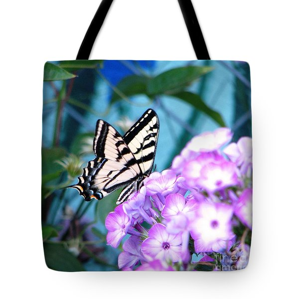 Loving Phlox Tote Bag