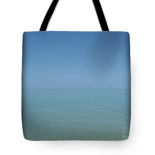 Loving Union Of Sky And Ocean Tote Bag