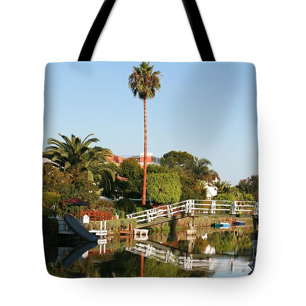 Tote Bag featuring the photograph Loving Venice by Art Block Collections