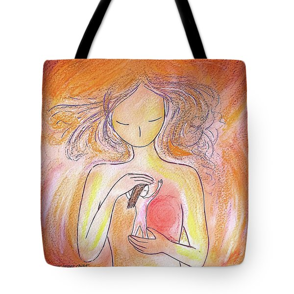Loving Your Inner Child Tote Bag