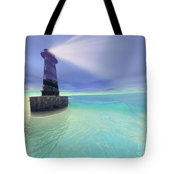 Low Fog Tote Bag by Corey Ford