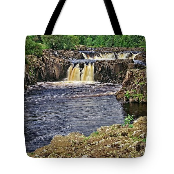 Low Force Waterfall, Teesdale, North Pennines Tote Bag