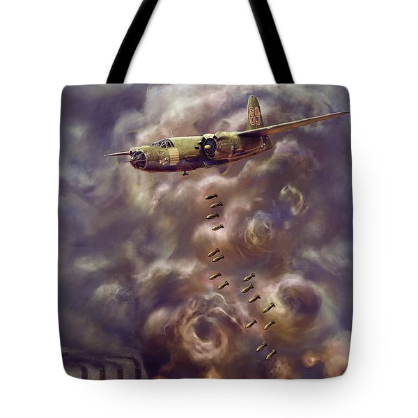 Low Level Attack Tote Bag