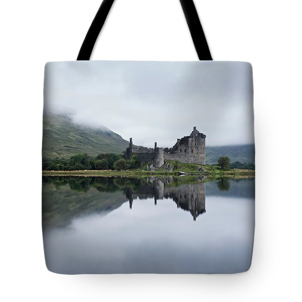 Low Mist At Kilchurn Tote Bag
