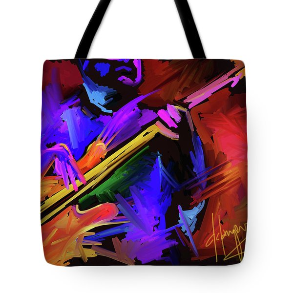 Tote Bag featuring the painting Low Rider by DC Langer