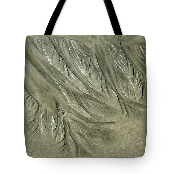 Low Tide Abstracts Iv Tote Bag