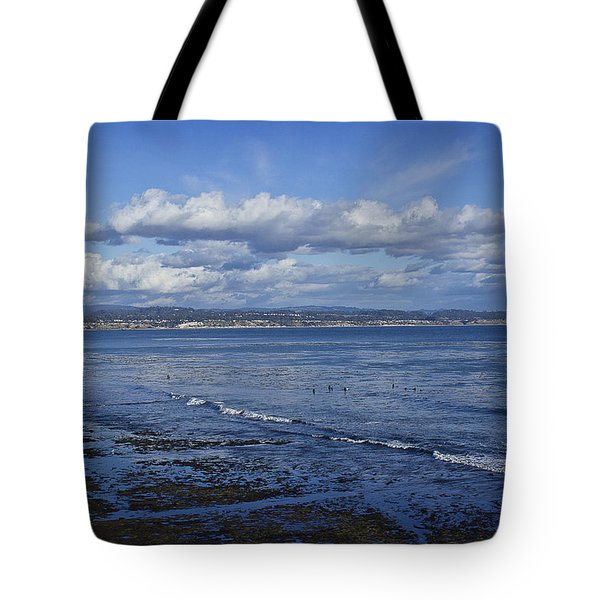 Low Tide At The Hook, Santa Cruz Ca Tote Bag
