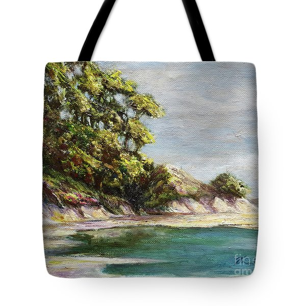 Low Tide Beach Tote Bag by Danuta Bennett