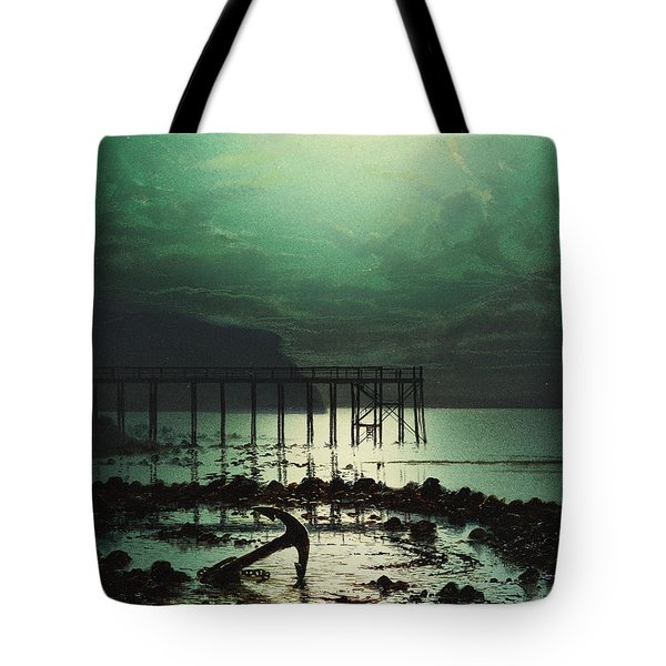 Low Tide By Moonlight Tote Bag by WHJ Boot