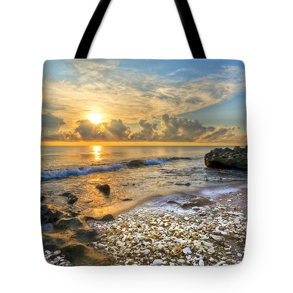 Low Tide Tote Bag by Debra and Dave Vanderlaan