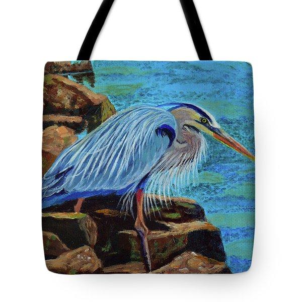 Low Tide Fisherman Tote Bag