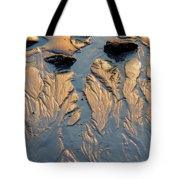 Tote Bag featuring the photograph Low Tide Flow, Kettle Cove, Cape Elizabeth, Maine  -66557 by John Bald