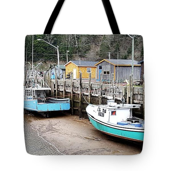 Low Tide In St. Martins Tote Bag