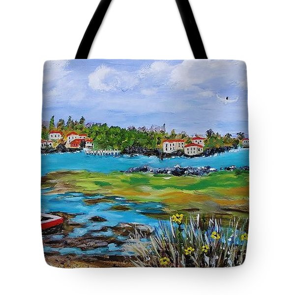 Low Tide Tote Bag by Mike Caitham