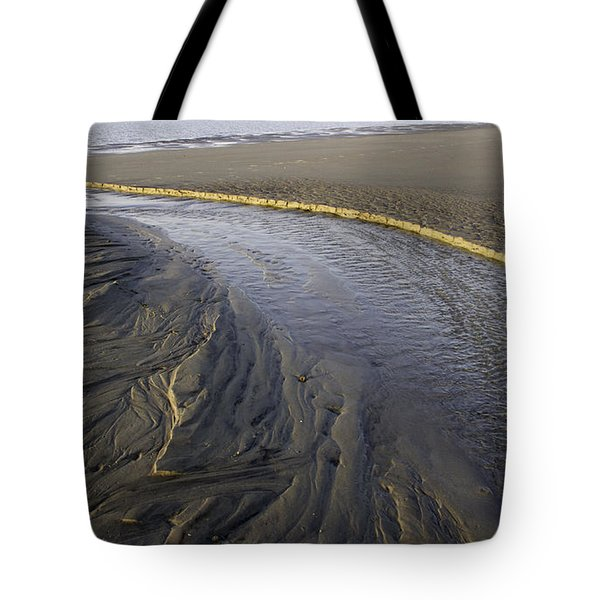 Low Tide Morning Tote Bag