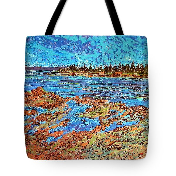 Low Tide Oak Bay Nb Tote Bag