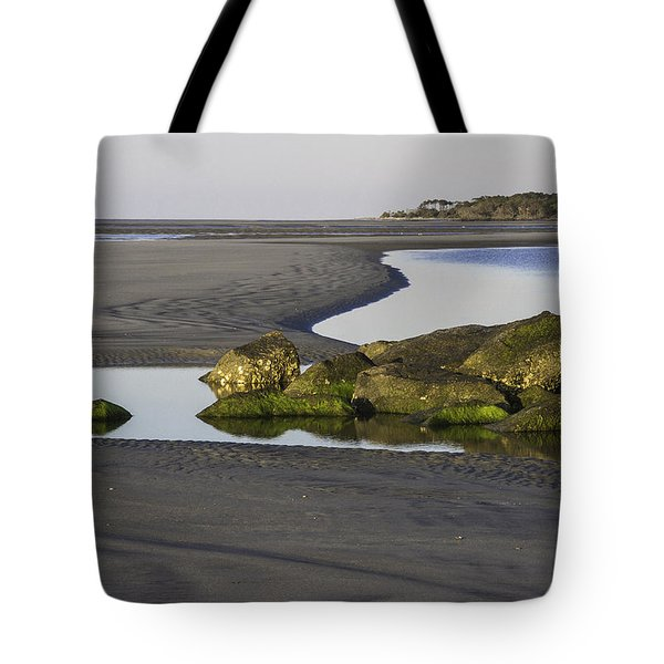 Low Tide On Tybee Island Tote Bag