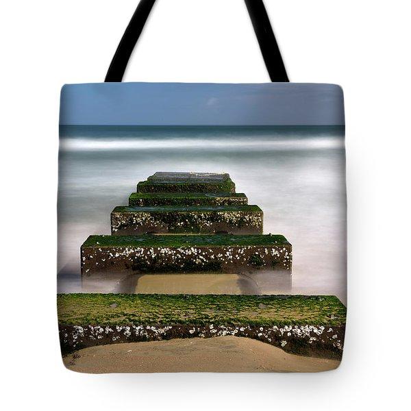 Low Tide Reveal Tote Bag