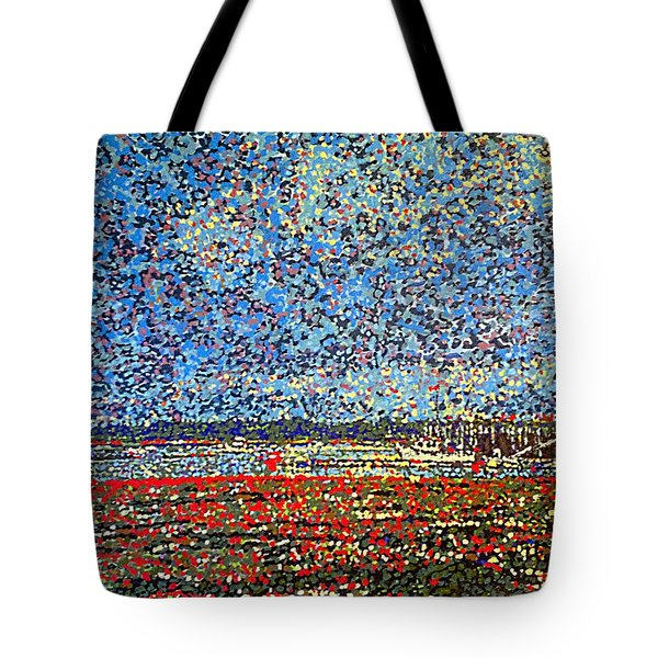 Low Tide - St. Andrews Wharf Tote Bag