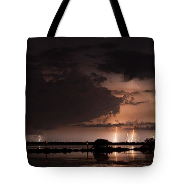 Low Tide With High Energy Tote Bag