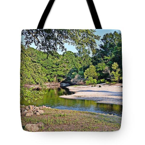 Low Water Tote Bag by Linda Brown