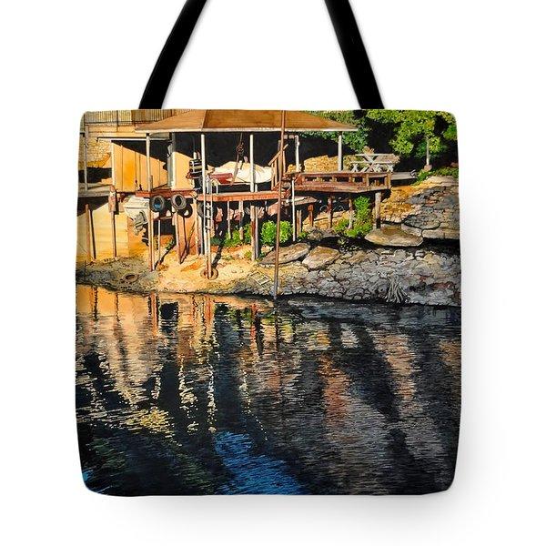 Low Water Tote Bag