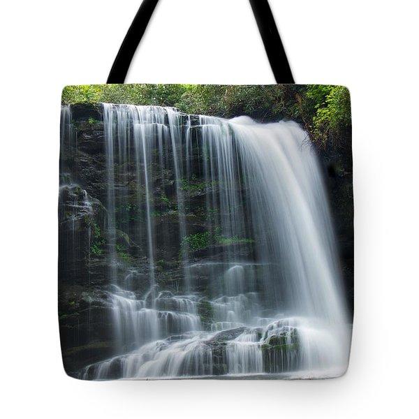 Lower Bearwallow Falls Tote Bag