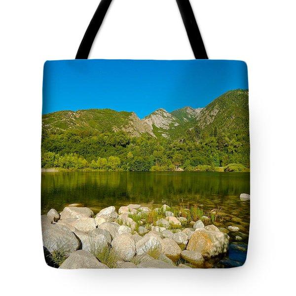 Lower Bells Canyon Reservoir Tote Bag