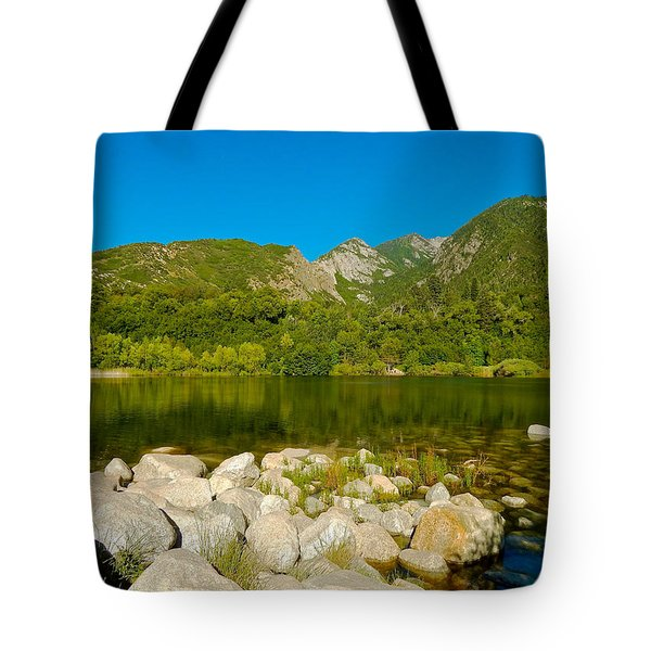 Lower Bells Canyon Reservoir Tote Bag