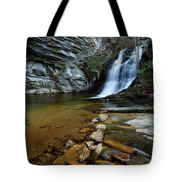 Lower Cascades Tote Bag