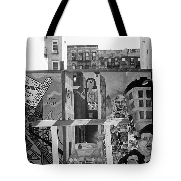 Lower East Side Mural Tote Bag