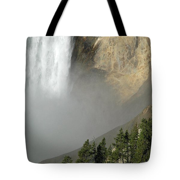 Lower Falls Closeup Tote Bag