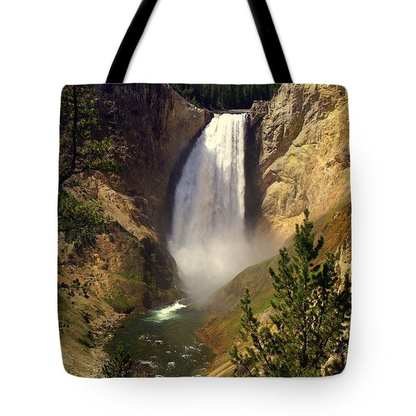 Lower Falls Tote Bag by Marty Koch