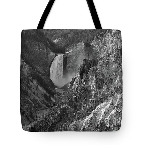 Lower Falls Tote Bag by Sheila Ping