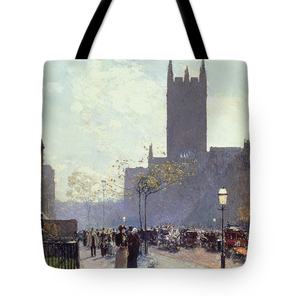 Lower Fifth Avenue Tote Bag