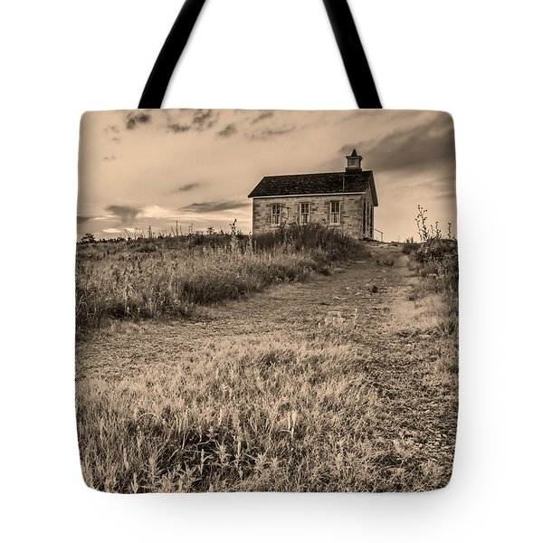 Lower Fox Creek School Tote Bag by Don Spenner