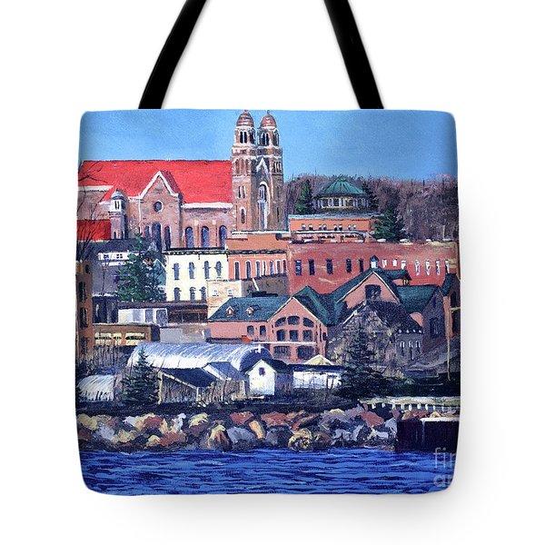 Lower Harbor-marquette Michigan Tote Bag