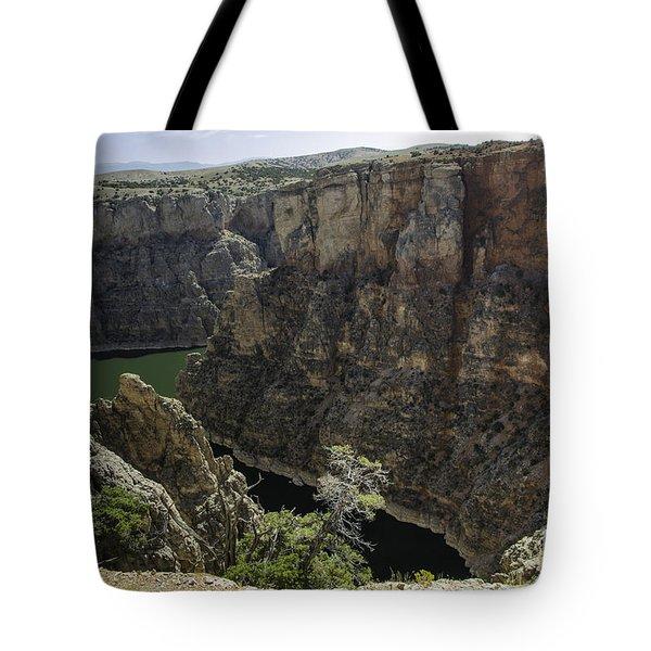 Lower Layout Creek, Bighorn Canyon Tote Bag