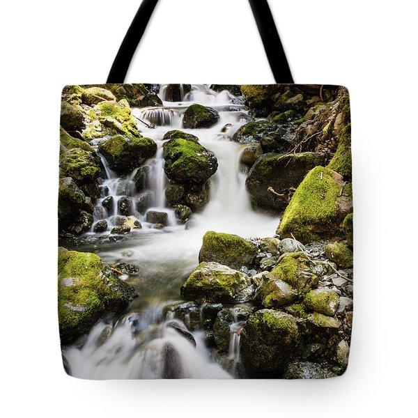 Lower Lupin Falls   Tote Bag