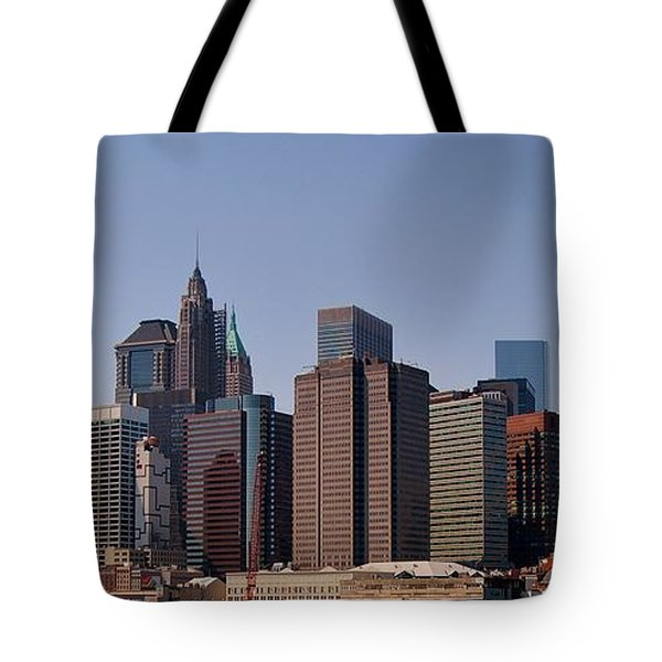 Lower Manhattan Nyc #2 Tote Bag