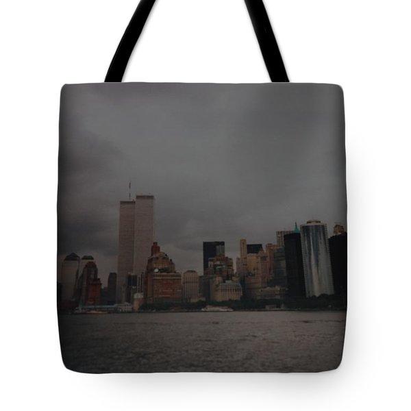 Lower Manhattan Tote Bag by Rob Hans