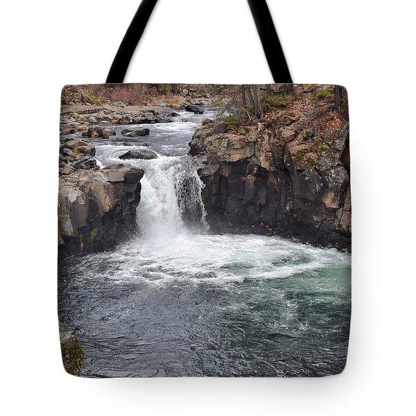 Lower Mccloud Falls Tote Bag