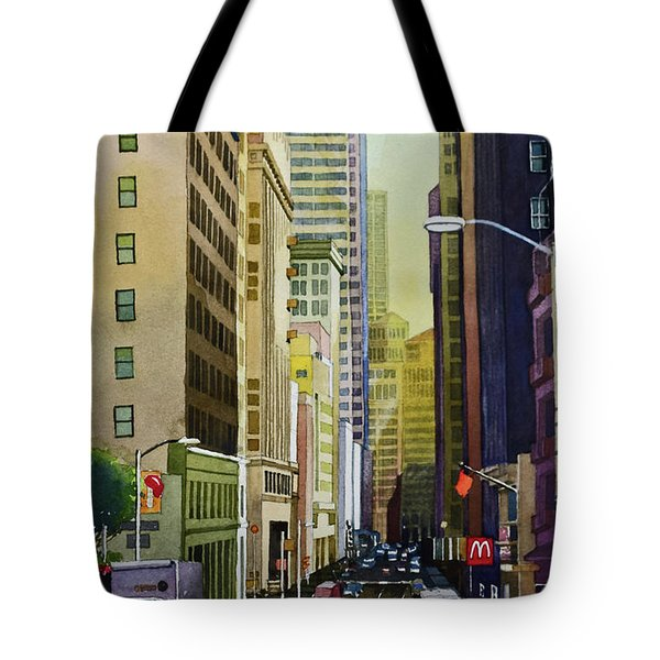 Lower Pine Street Tote Bag