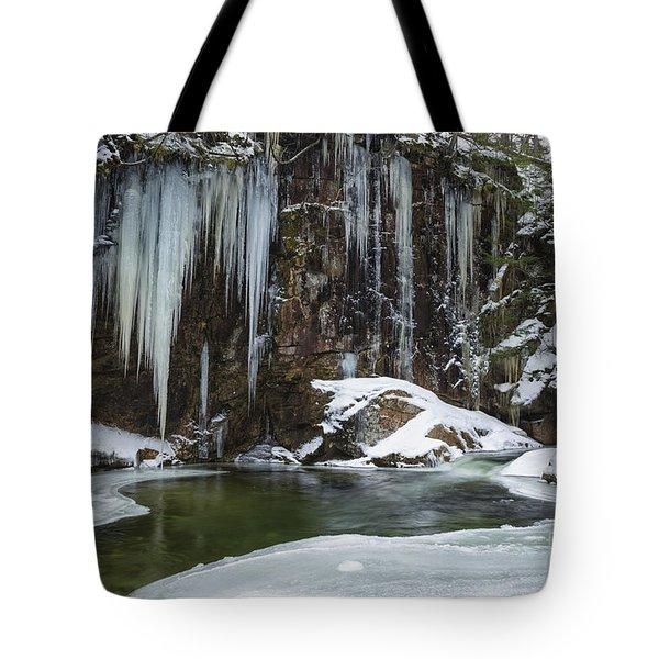 Lower Pool - Sabbaday Falls, New Hampshire Tote Bag