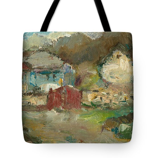 Lower Side Of Climauti Tote Bag