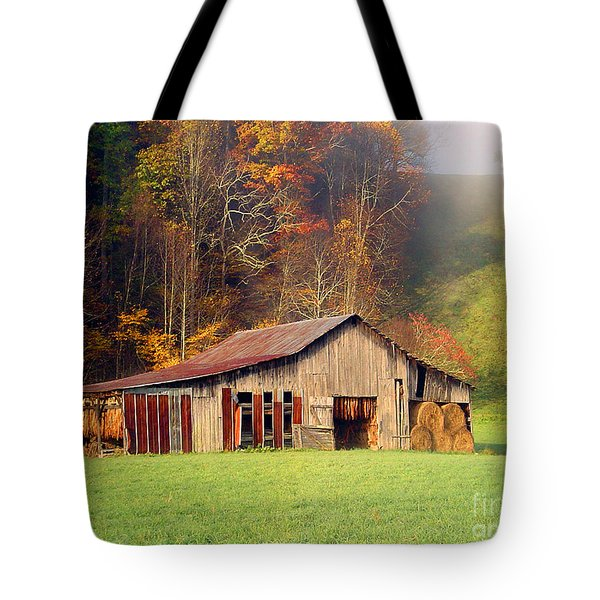 Lowes Barn Tote Bag