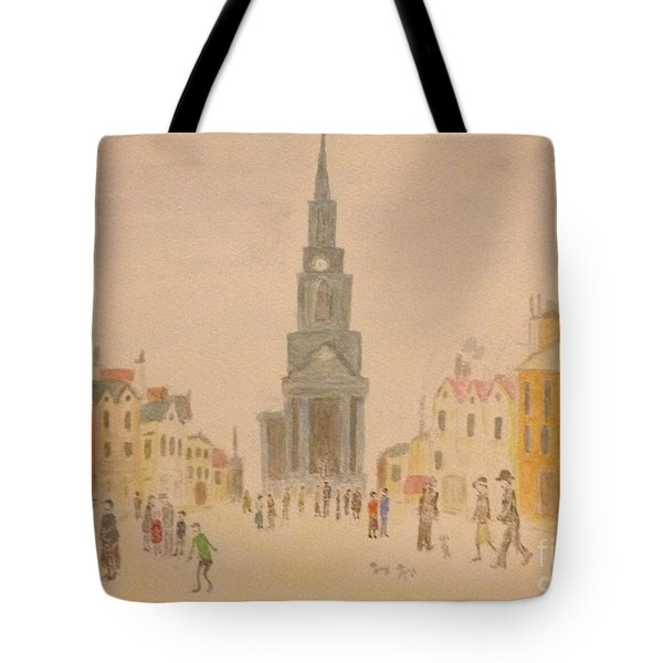 Lowry And Shadow Of Japan Tote Bag by Sawako Utsumi